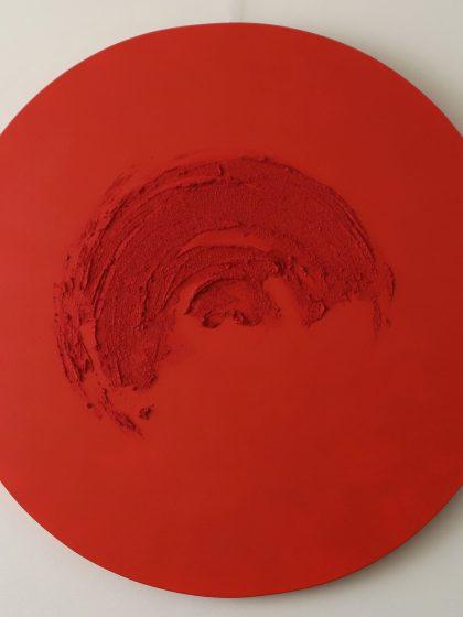 Redondel Rojo